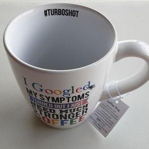White Coffee mug/ cup